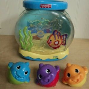 Used Fisher Price Ocean Adventure Musical Fishbowl